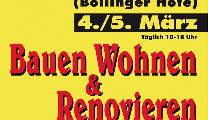 Jörg Mayer Energieberatung auf der Messe Bauen, Wohnen & Renovieren