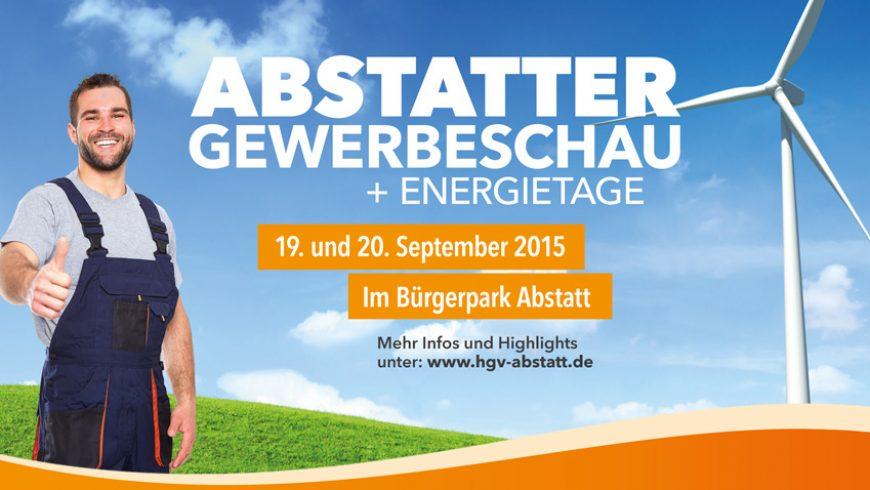 Besuchen Sie uns bei den Energietagen in Abstatt