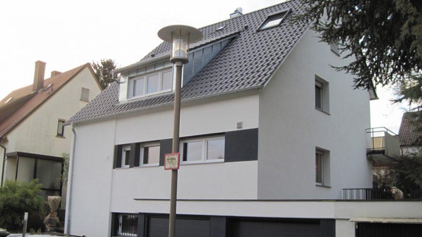 Einfamilienhaus – Einsparung 66%