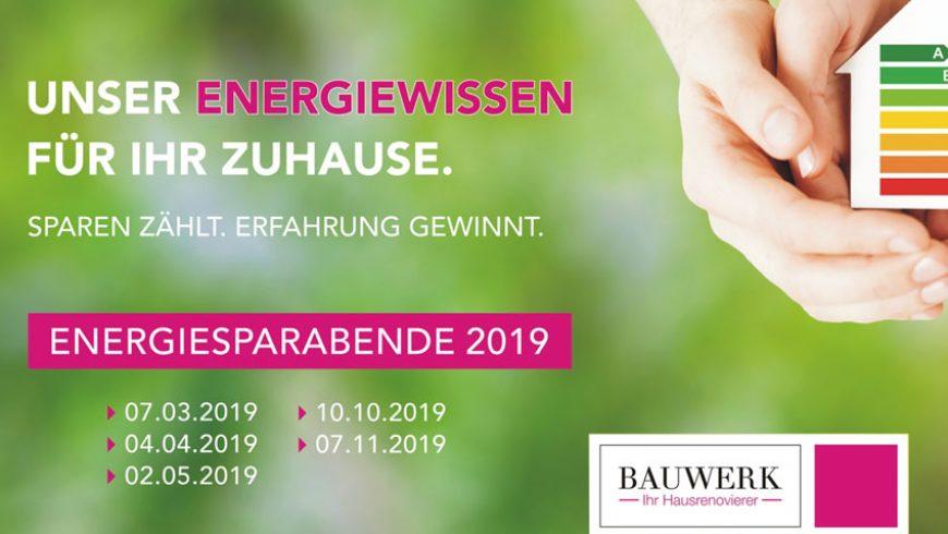 Energiesparabende 2019